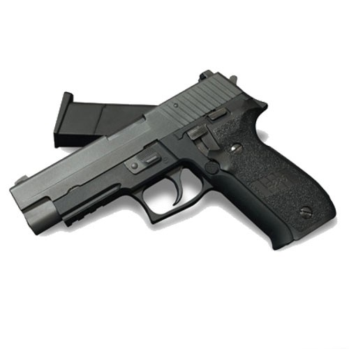 WE P226 with Rail Black GBB Pistol