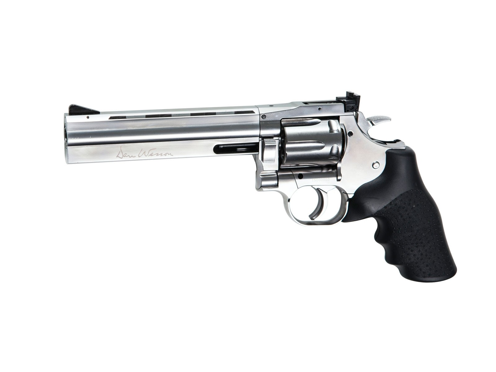 "ASG Dan Wesson 715 6"" Silver (Low Power) CO2 Revolver"