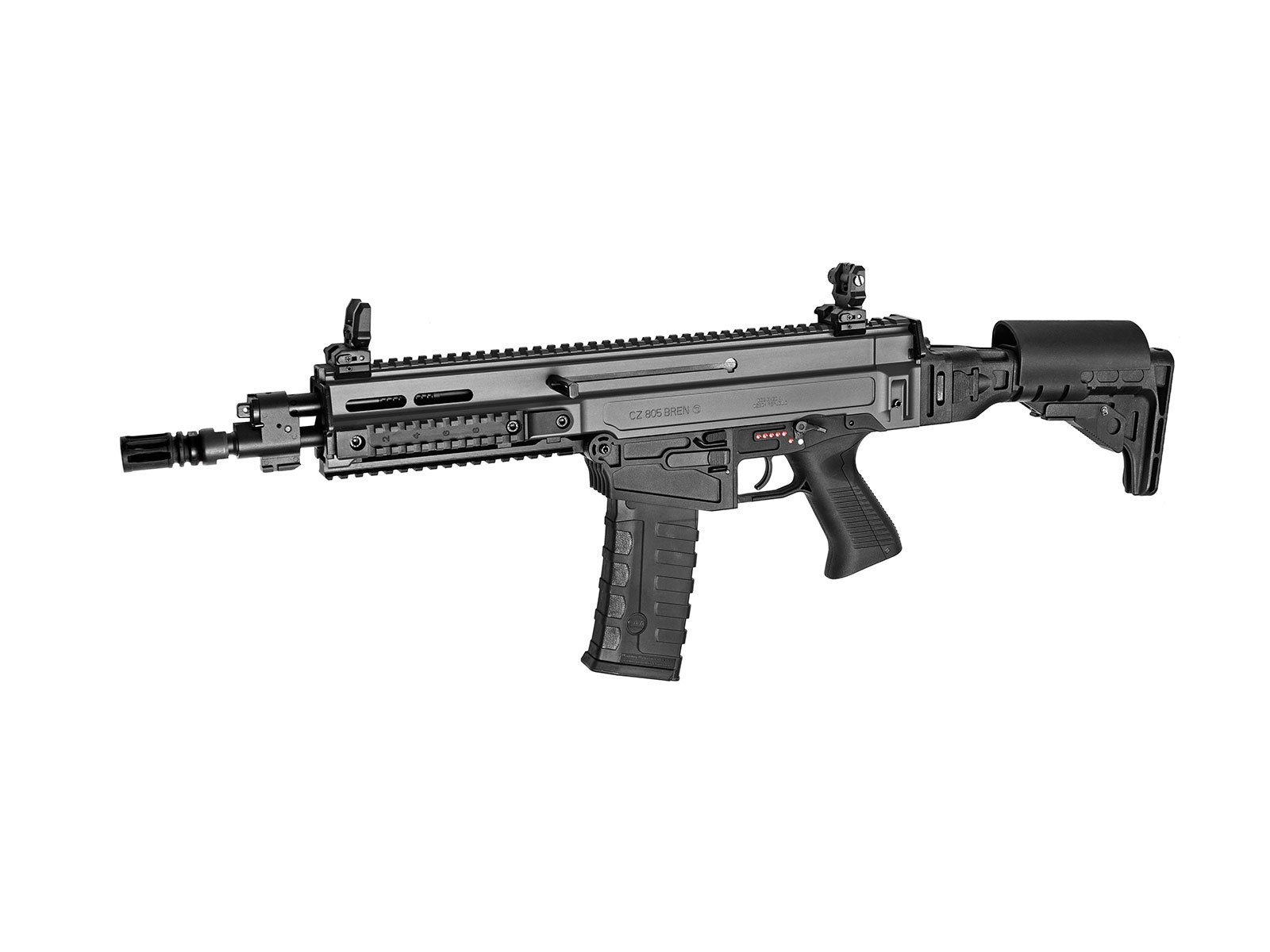 ASG CZ 805 Bren A2 Grey Airsoft AEG with MOSFET