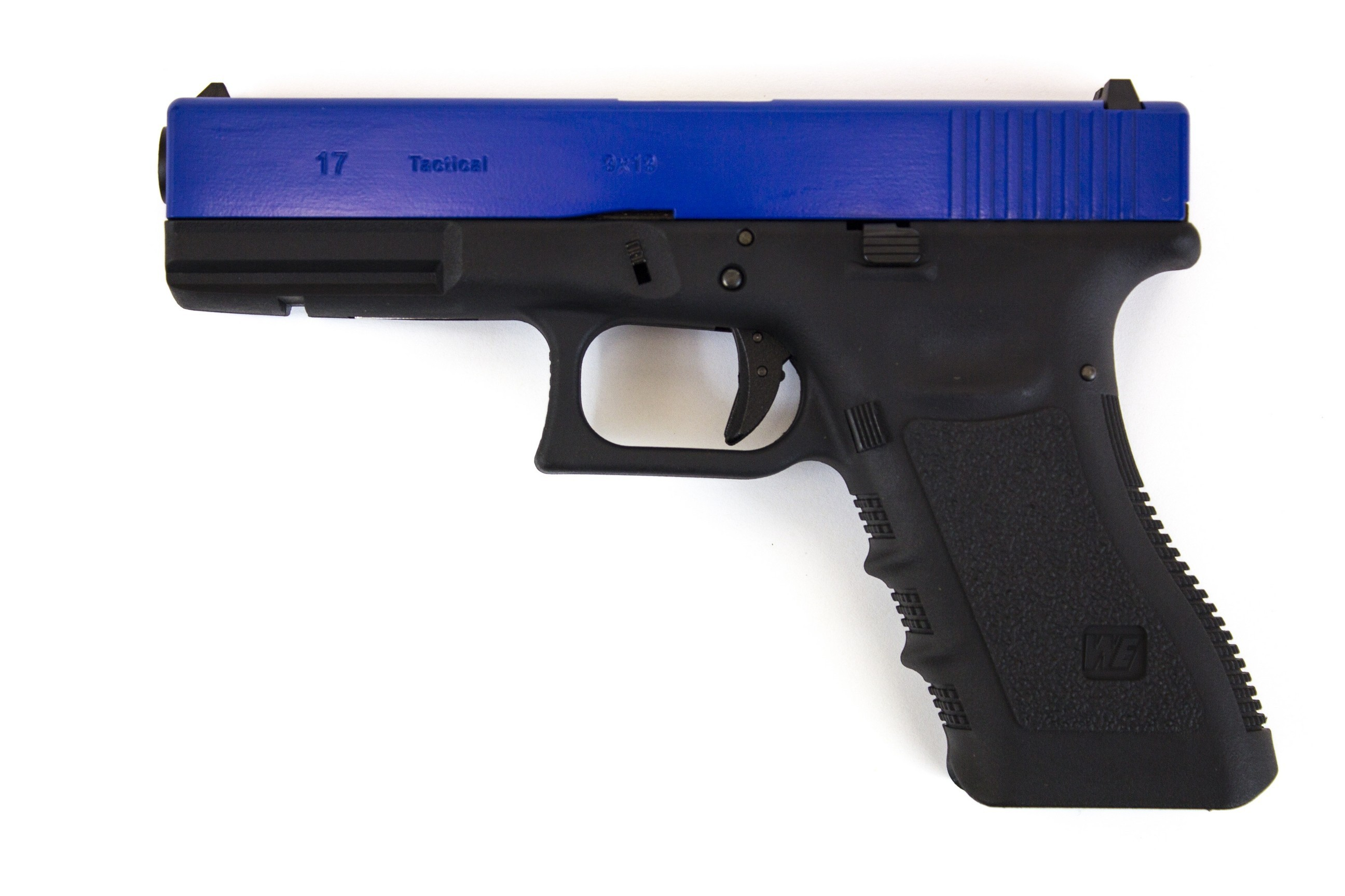 WE Glock 17 Gen 3 GBB Pistol (Blue)