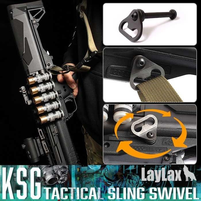 LayLax Tokyo Marui KSG Gas Airsoft Shotgun Tactical Sling Swivel