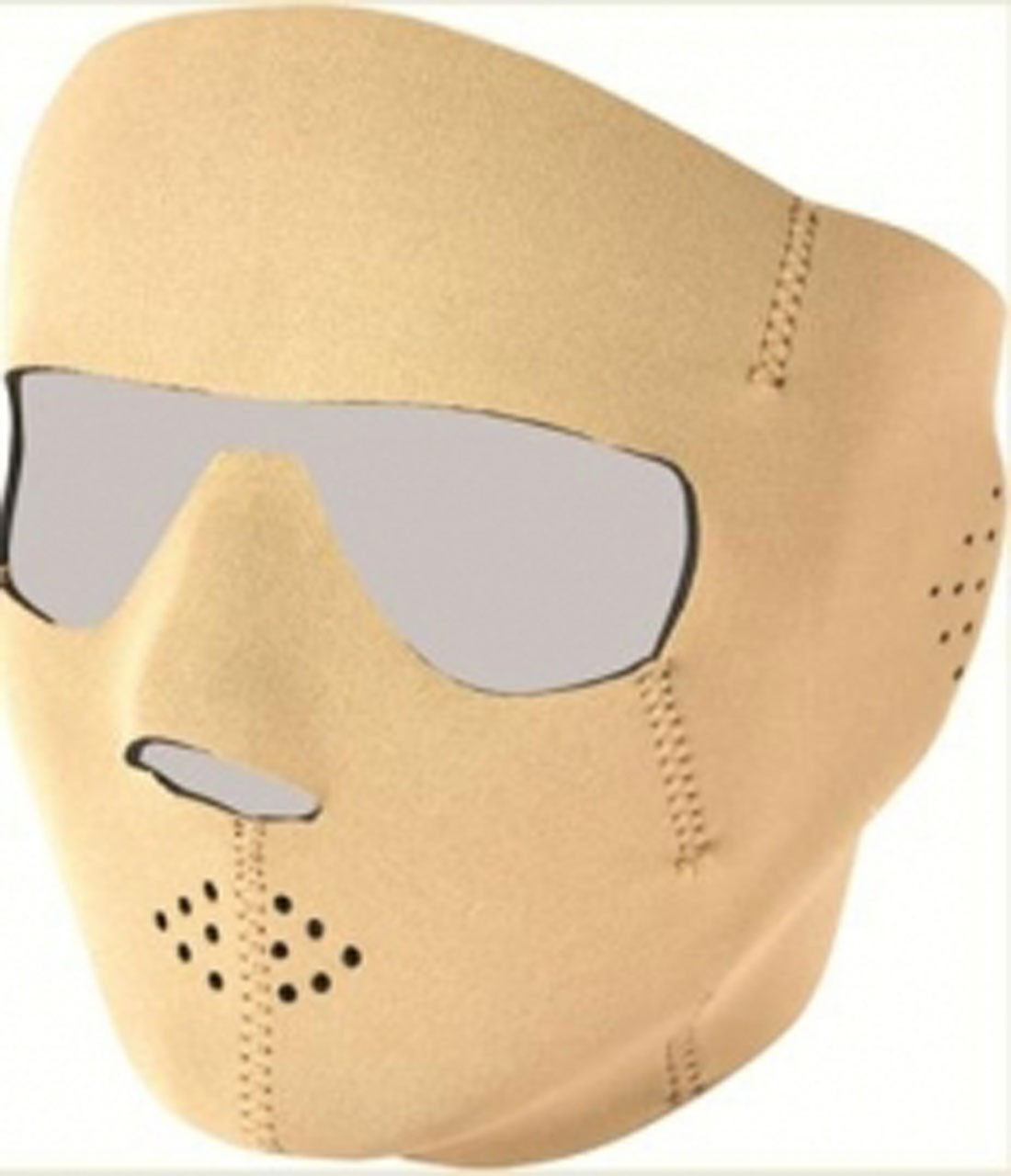 Viper Special Ops Full Face Mask Sand