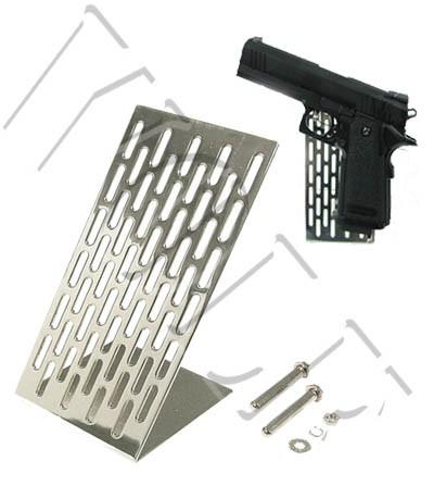 Guarder Handgun Stand - Silver