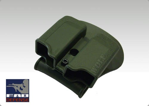 IMI Double Mag Pouch Glock - OD