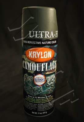 Krylon Camouflage Paint Olive Fusion
