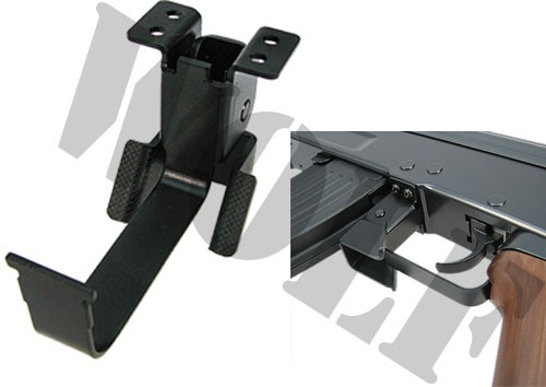 King Arms Double Side AK Mag Catch - C Type