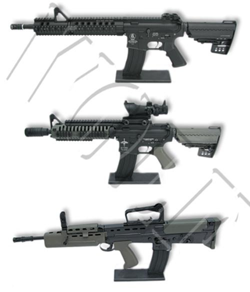 King Arms Display Stand for AEG - M4/M16
