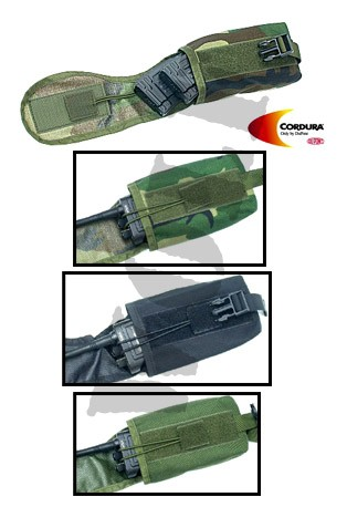 Guarder Saber Radio Pouch for M.O.D. Tactical Vest - OD