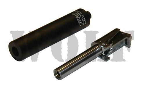 Maruzen Walther PPK Black Silencer & Barrel Set