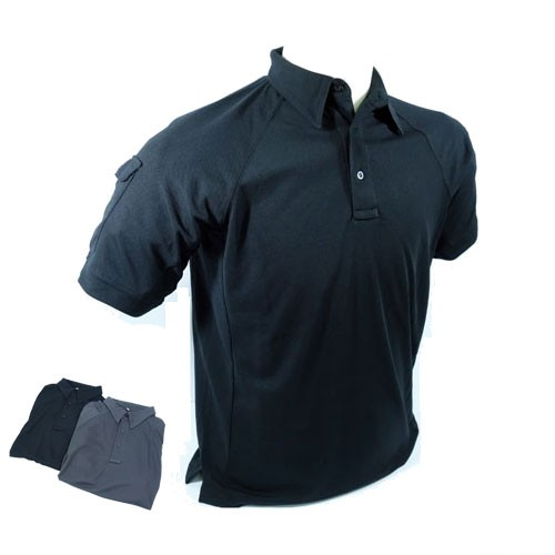 PTS Polo Shirt 2014 Version (Gray) - M