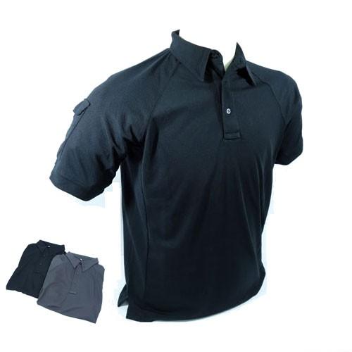 PTS Polo Shirt 2014 Version (Black) - XL