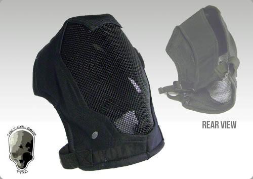TMC Extreme Metal Mesh Face Mask (Black)