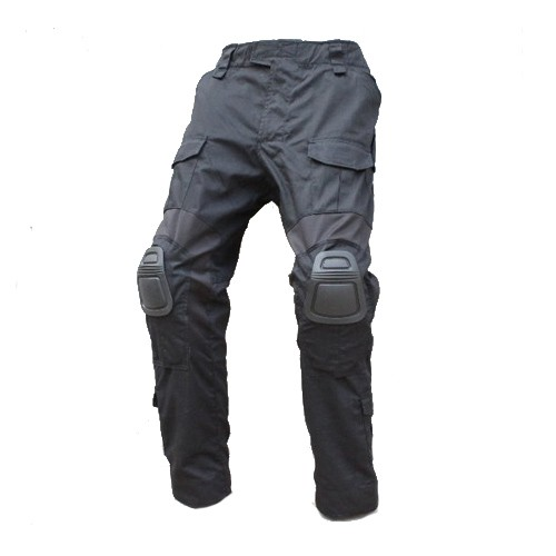 TMC CP Gen2 Tactical Pants with Pads (Black) - L