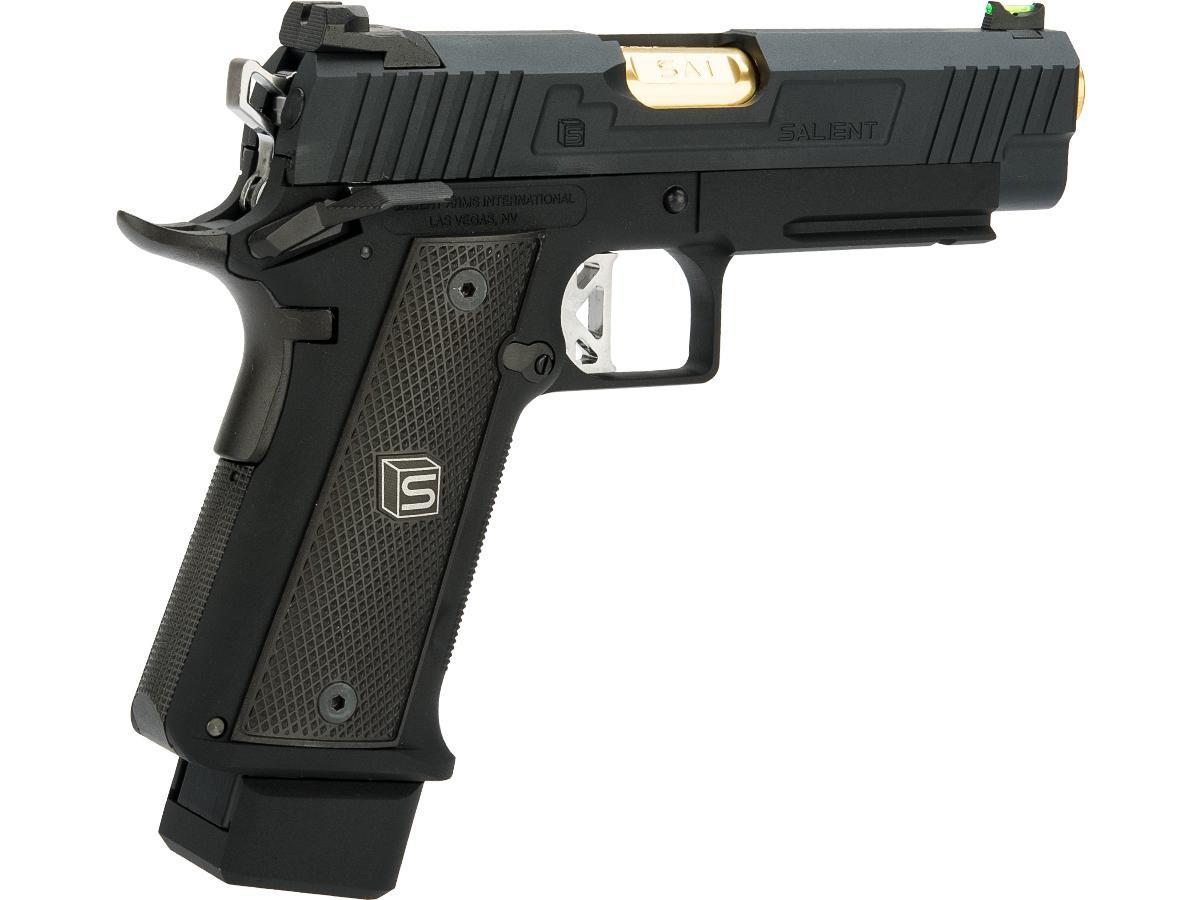EMG Salient Arms International 2011 DS 5.1 Airsoft Gas Blowback Pistol