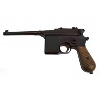 WE 712 M712 'Broomhandle Mauser' GBB Pistol with Stock/Holster