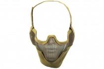 Nuprol Airsoft Mesh Lower Face Shield V2 - Tan