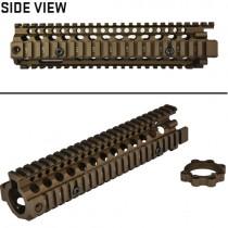 "Madbull Daniel Defense MK18 RIS II 9.5"" Handguard (FDE)"