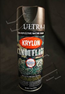 Krylon Camouflage Paint Brown Fusion