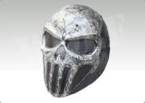 FMA Punisher Skull Gray Wire Mesh Mask