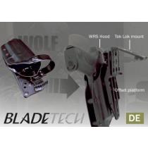 """Blade-Tech WRS Duty Holster DOH Tek-Lok XDM 5"""" DE LH"""