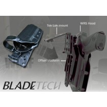 "Blade-Tech WRS Duty Holster DOH Tek-Lok XDM 5"" Black RH"