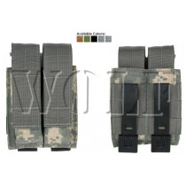 Tactical Tailor Double Pistol Mag Pouch Tan 1001014