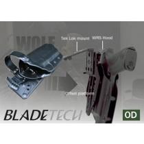 Blade-Tech WRS Duty Holster DOH Tek-Lok Glock 17 OD RH