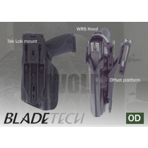 Blade-Tech WRS Duty Holster DOH Tek-Lok Sig 226R M3 OD RH