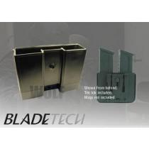 Blade-Tech Millennium Belt Duo Pistol Mag Pouch DMP 1911 Black