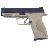 WE Force Big Bird (Black Slide/Gold Barrel) FDE GBB Pistol