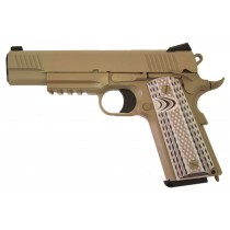 WE M45A1 Full Metal GBB Pistol - Tan