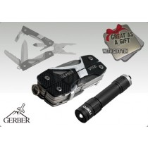 Gerber Vise Multitool & Tempo LED Torch Gift Box
