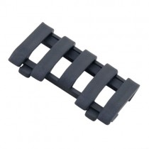 ERGO LowPro 5-Slot Picatinny Rail Wire Loom - Black