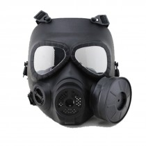 Big Foot Toxic Gas Mask M04 with Fan (Black)