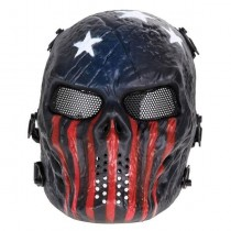 Big Foot Tactical Skull Airsoft Mask with Mesh Eyes (Captain)
