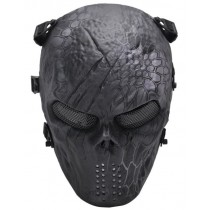 Big Foot Tactical Skull Airsoft Mask with Mesh Eyes (Typhon)