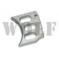 NINE BALL 3 Hole Custom Trigger TM Hi-CAPA 5.1 Silver