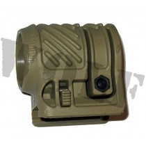 Tdi Arms Torch Laser Mount 1 inch for Picatinny Khaki