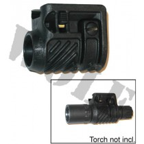 Tdi Arms Torch Laser Mount 1 inch for Picatinny Black