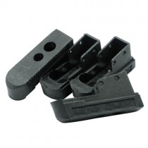 DYTAC Combat Mag Base for TM 1911 MEU (Black) (4 Pack)