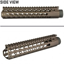 "DYTAC 9"" BRAVO Rail TM Profile - Dark Earth"