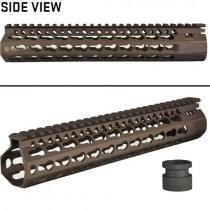 "DYTAC 10"" BRAVO Rail TM Profile - Dark Earth"