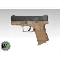 WE XDM Compact Tan GBB Pistol