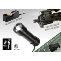 Wolf Eyes GL-92 R2 HO Tactical Torch - Rechargeable