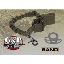 z G&P CQB/R Single Point SAND Bungee Sling w.Rear Stock Adaptor