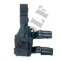 Guarder Tactical Thigh Holster - Black