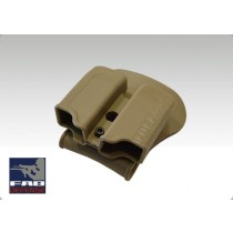 IMI Double Mag Pouch Glock - Tan