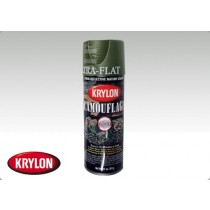 Krylon Camouflage Paint Woodland Green Fusion