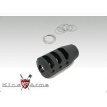 King Arms PRI MSTN QCB Muzzle Brake CCW