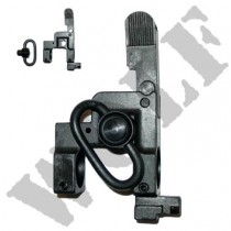 King Arms Flip Up Front Sight with Sling Swivel